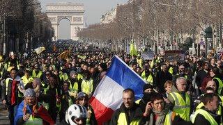 France: baisse de mobilisation pour l'acte 14 des «gilets jaunes»