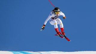 Ski alpin: Goggia à nouveau devant à l'entraînement de la descente de Crans-Montana, les Suissesses placées