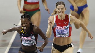 Lea Sprunger sacrée championne d'Europe du 400m en salle !