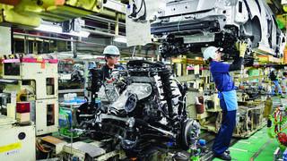 Le Japon souffre du freinage chinois