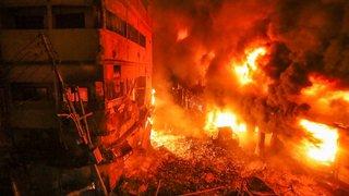 Au moins 70 morts dans un violent incendie