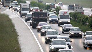 A1: trafic paralysé en raison de multiples accidents