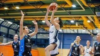 Le Nyon Basket Féminin déroule contre Baden