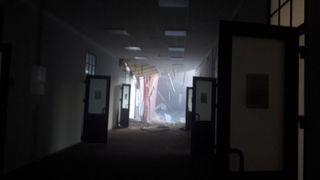 Université de Saint-Pétersbourg partiellement effondrée: on craint de nombreuses victimes