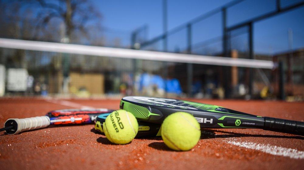 Au Tennis Club de Morges, les deux pistes de padel viennent tout juste d'être construites.
