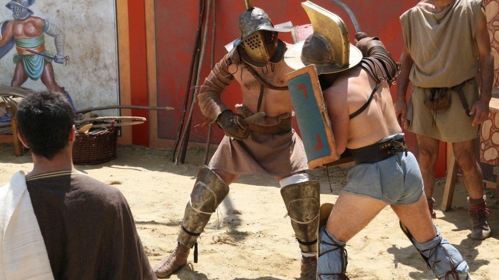 Toutes les périodes sont à l'honneur au festival du film archéologique, à l'image de l'antiquité et de ses gladiateurs présents dans le film Cärnutum.
