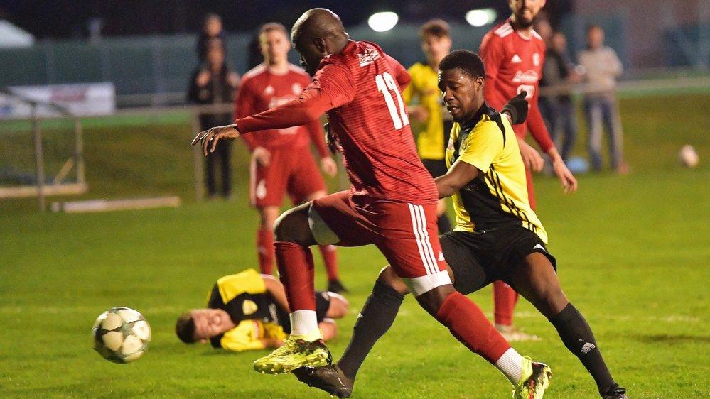 """Les """"jaune et noir"""" ont mené deux fois au score mais ne sont pas parvenus à conserver leur avantage."""