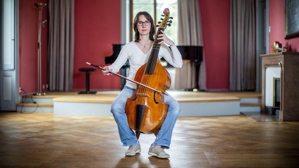 Marie-Claire Bettens enseigne l'instrument au Conservatoire de l'Ouest vaudois.