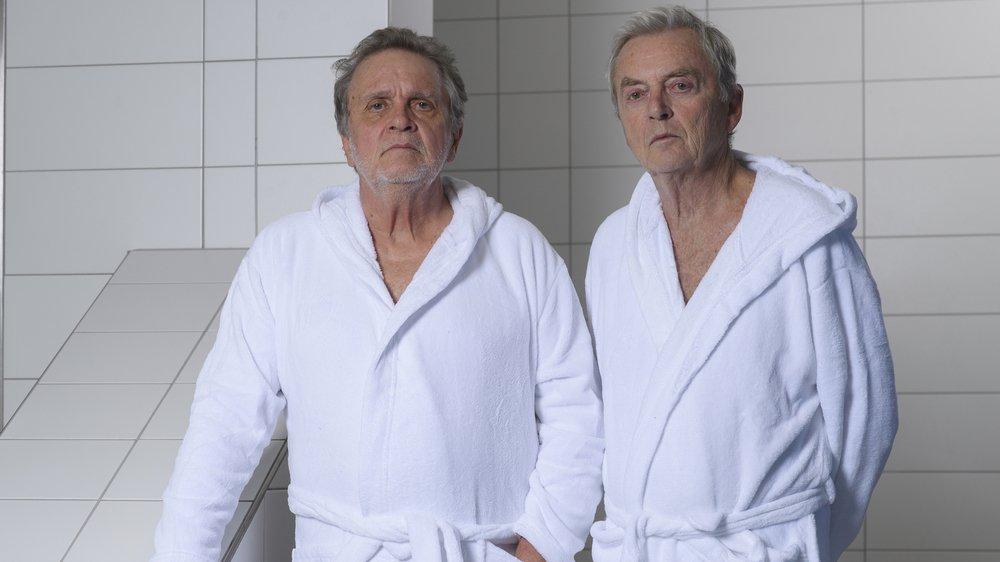 Jean-Charles Simon et Patrick Lapp collaborent depuis 45 ans.