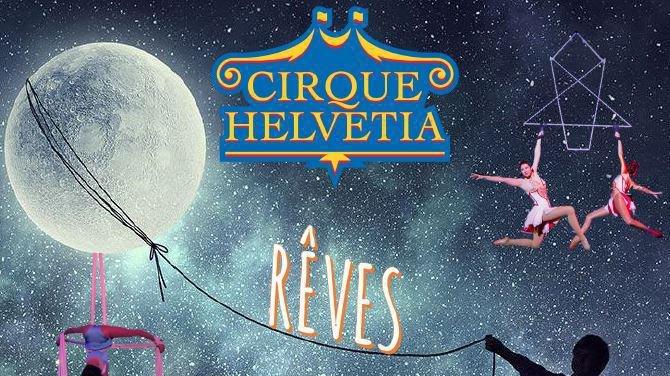 Le cirque Helvetica fera rêver petits et grands avec son nouveau spectacle, ce week-end à Rolle.