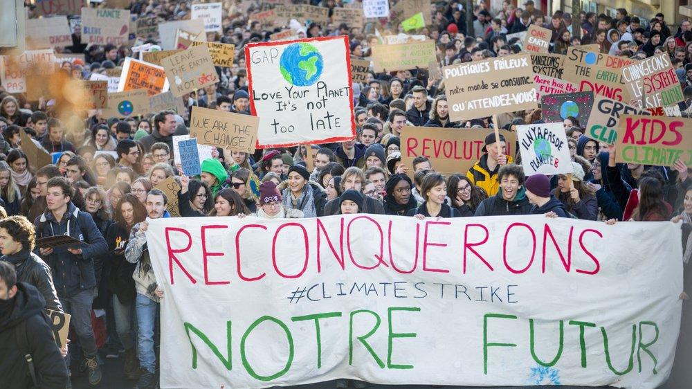 Comme lors de la première grève pour le climat le 18 janvier, les élèves devront justifier leur absence ce vendredi 15 mars.