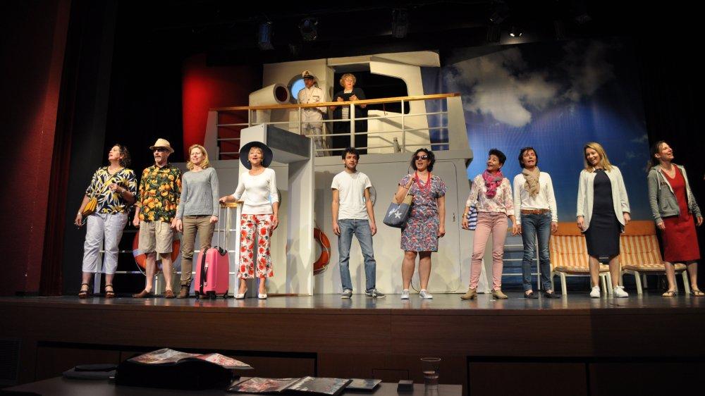 La troupe est active depuis le milieu des années 1990.