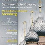 Une Passion russe ressucitée, Maximilian Steinberg