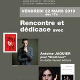 Antoine Jacquier & Quentin Mouron en dédicace