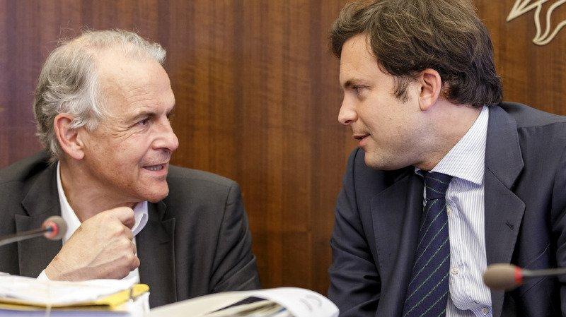 Rémy Pagani et Guillaume Barazzone sont convoqués avec le statut de prévenus (archives).