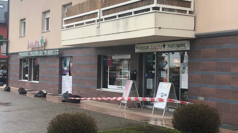 La pharmacie Amavita, à Gland, est restée fermée toute la matinée.