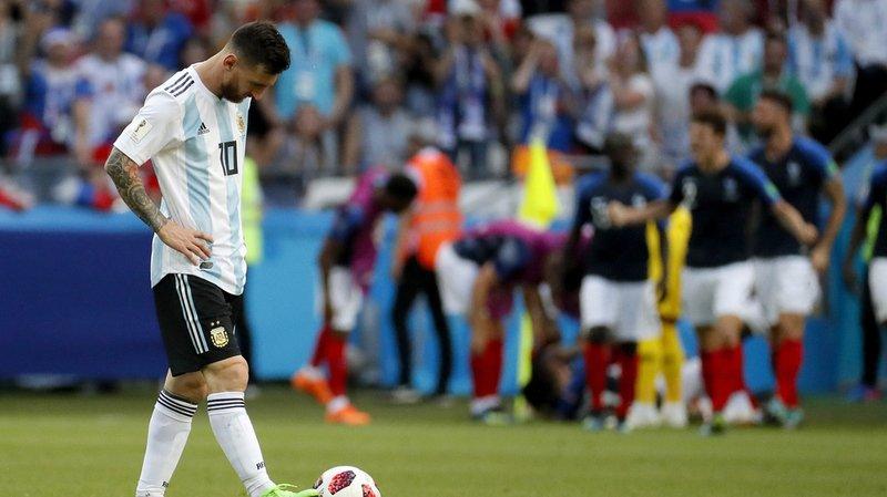 La dernière sélection de Lionel Messi en équipe d'Argentine remontait à la défaite contre la France en huitièmes de finale de la Coupe du monde 2018. (Archives)