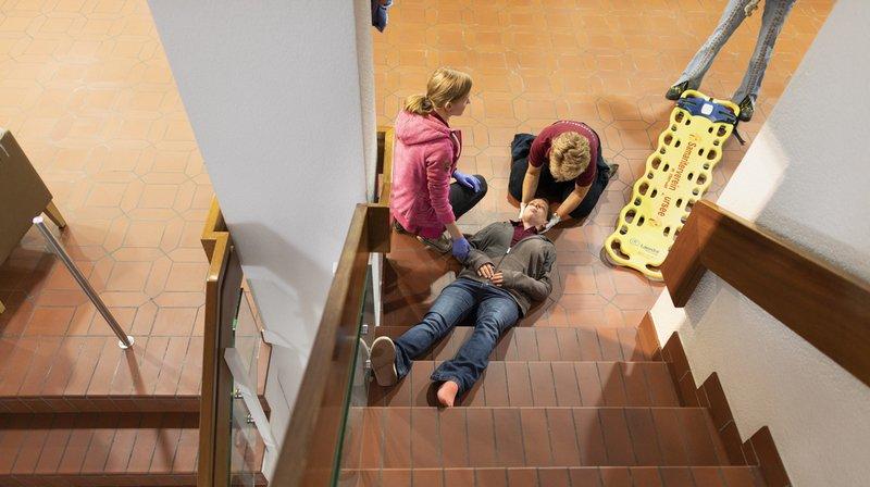 Chutes et faux pas causent le plus d'accidents en Suisse