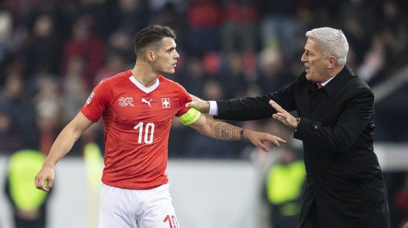 Petkovic et son capitaine Granit Xhaka doivent faire le plein de points face à la Géorgie et au Danemark.