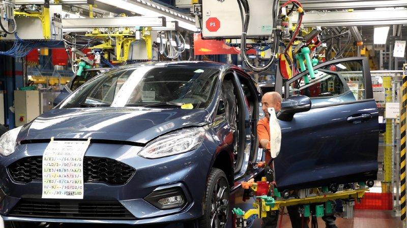 En Europe, Ford a vu ses parts de marché diminuer de moitié en une dizaine d'années (illustration).