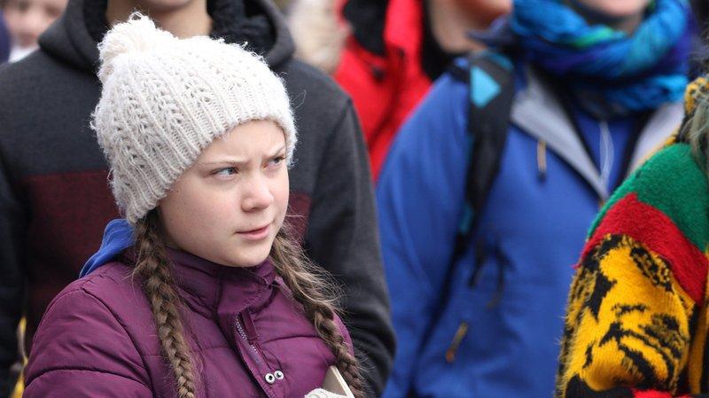La Suédoise de 16 ans est devenue une égérie de la lutte contre les dérèglements climatiques.