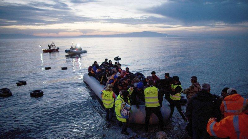 Migration: le corps d'une fillette retrouvé sur une plage de Lesbos en Grèce