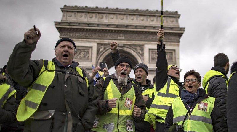 Samedi, quelque 7000 protestataires étaient réunis dans toute la France, dont environ 2800 à Paris.