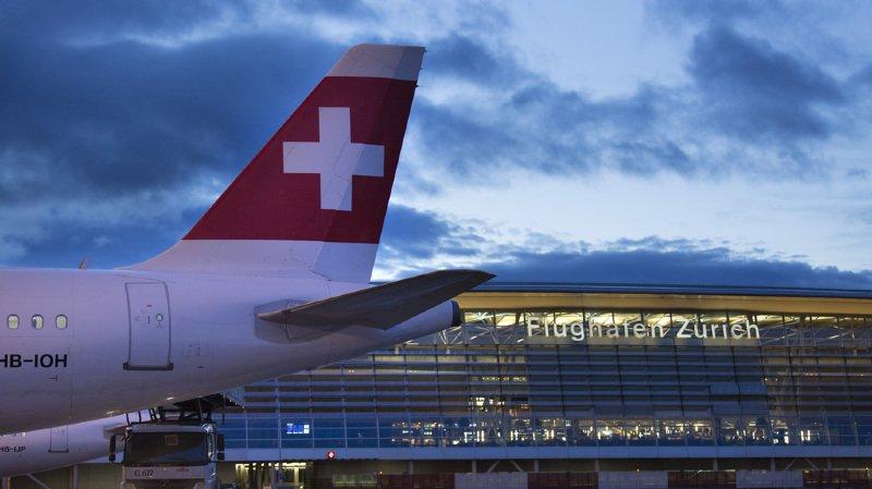 Transport aérien: performance historique de la hausse du bénéfice de la compagnie Swiss