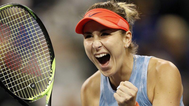 Belinda Bencic s'est imposée en trois sets.