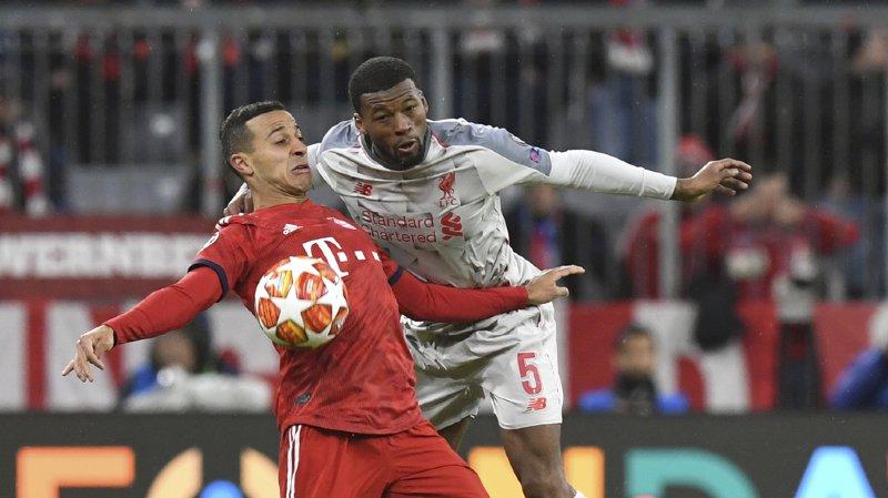 Football - Ligue des Champions: Liverpool et Barcelone se qualifient pour les quarts de finale