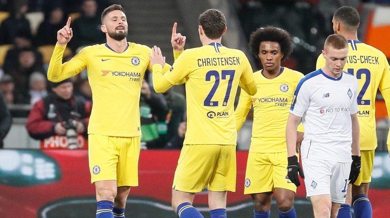Football – Europa League, 8e de finale retour: très facile pour Chelsea, Naples continue malgré une défaite à Salzbourg