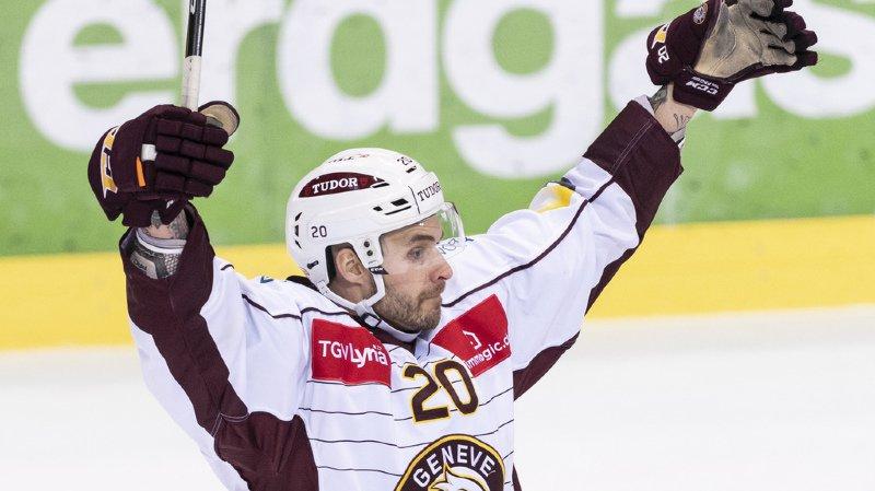 Johan Fransson a offert le point victorieux à Servette à la 96e minute.