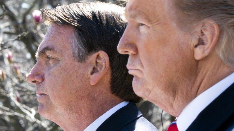 Etats-Unis: les présidents Trump et Bolsonaro se rencontrent à la Maison-Blanche