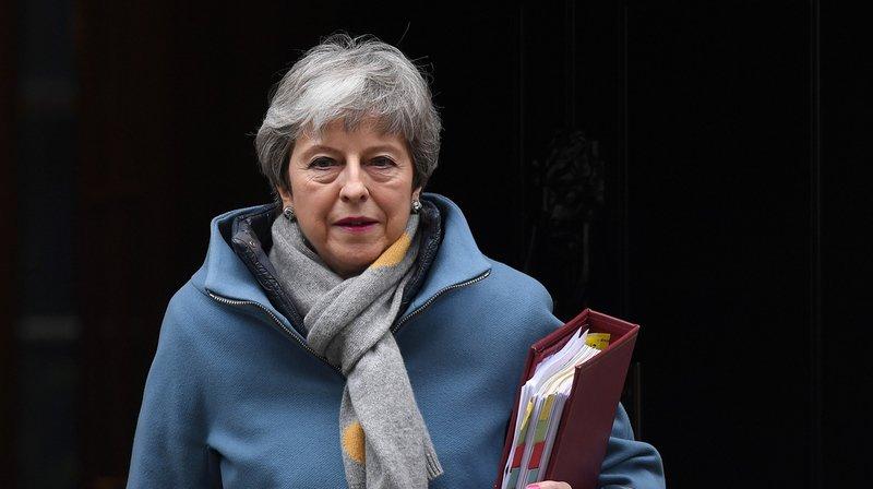 Theresa May s'est rendue à Bruxelles ce mercredi matin pour demander un report du Brexit.