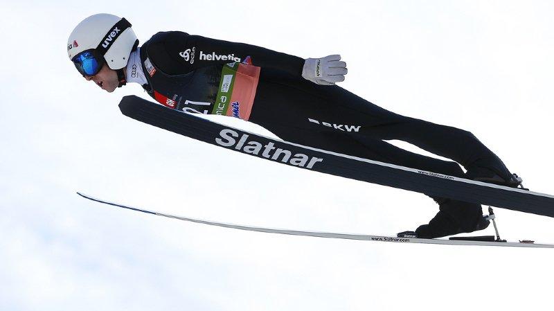 Simon Ammann a tout de même permis à la Suisse de terminer au 7e rang par équipes.
