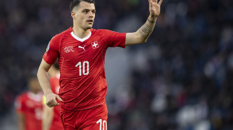 Football - Euro 2020: Xhaka défend le choix de Petkovic de l'avoir sorti contre le Danemark