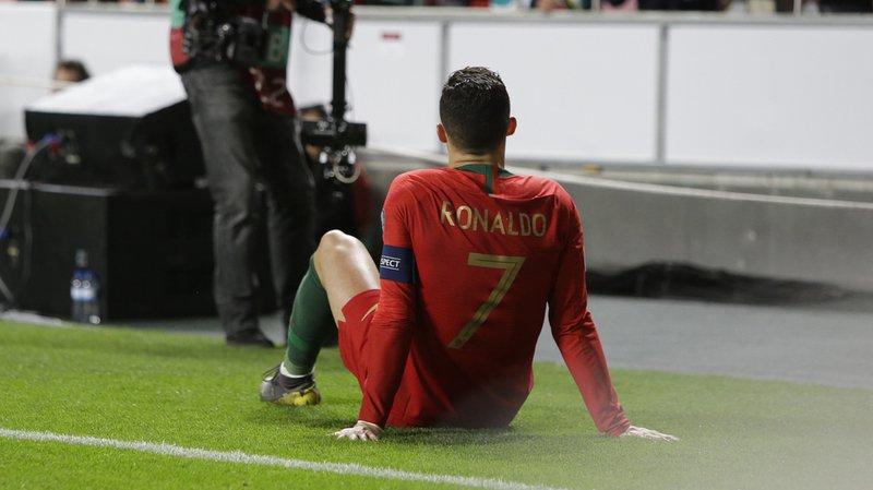 Football: Cristiano Ronaldo ne souffre que d'une blessure mineure