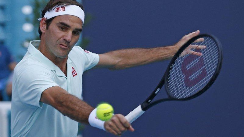 Federer affrontera Medvedev en 8e de finale ce mercredi lors du Miami Open.
