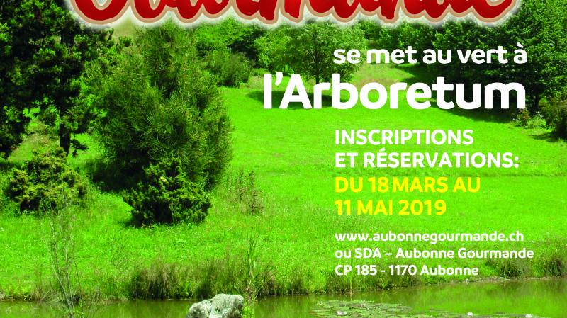 Aubonne Gourmande se met au vert à l'Arboretum