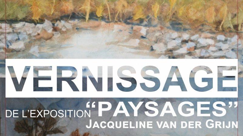 """""""Paysages"""" de Jacqueline van der Grijn"""
