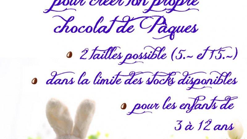 Atelier chocolat pour les enfants