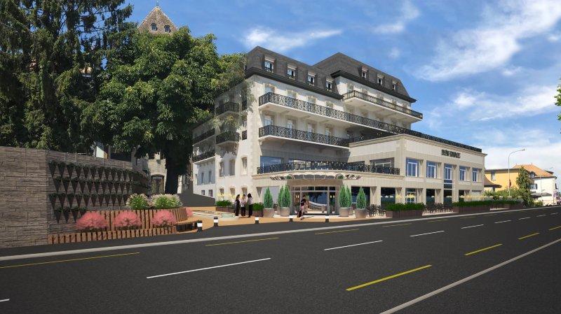 Hôtel Beau-Rivage: une nouvelle mise à l'enquête pour mieux rebâtir