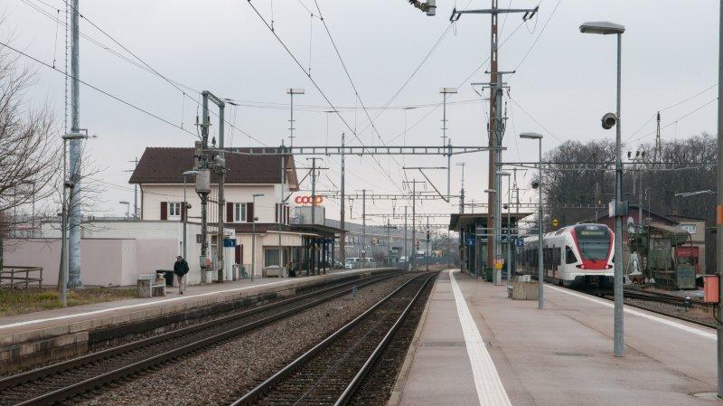 La gare d'Allaman est un atout indéniable de la région.