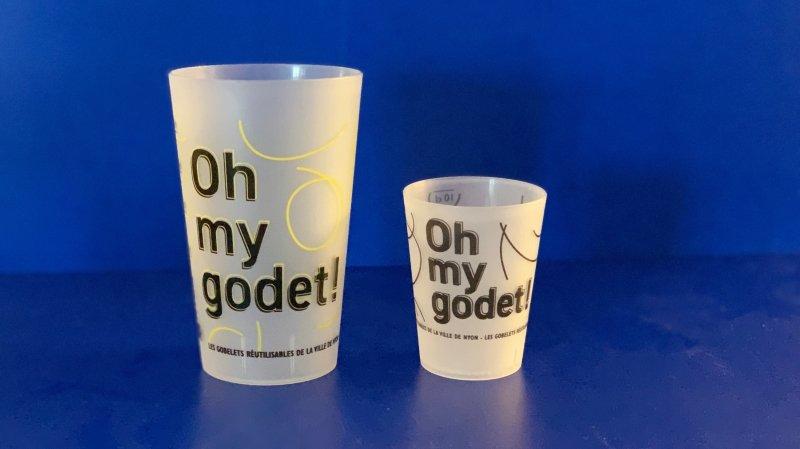 """Oh my godet!"": les goblets réutilisables destinés aux manifestations nyonnaises."