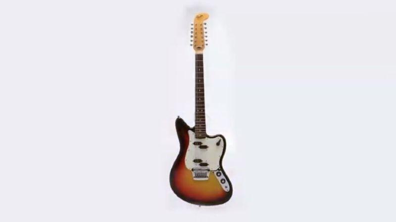 Plusieurs collectionneurs ont surenchéri pour acquérir la Fender-Electric 12 String datant de 1965.