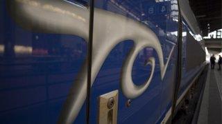 France voisine: un TGV Genève-Paris percute des bonbonnes de gaz placées sur la voie