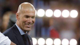 Football: Zinedine Zidane est à nouveau l'entraîneur du Real Madrid