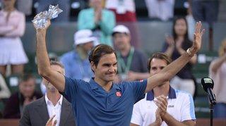 Tennis – Indian Wells: une nouvelle déconvenue en finale pour Federer