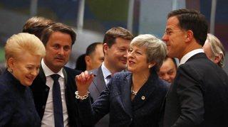 Brexit: le Conseil européen planche sur un report au 22mai
