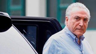 L'ex-président brésilien arrêté